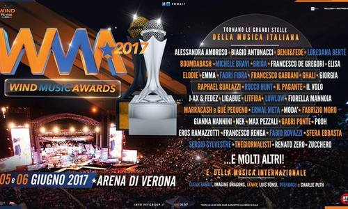 5/6 giugno: è tempo di WIND MUSIC AWARDS