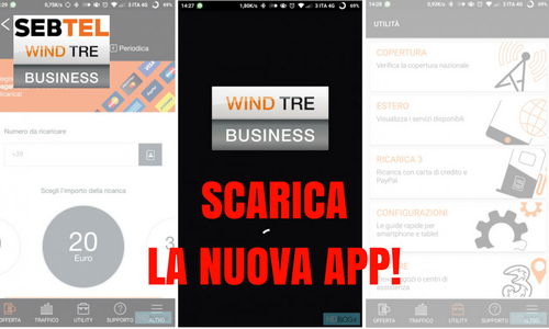App Wind Tre Business