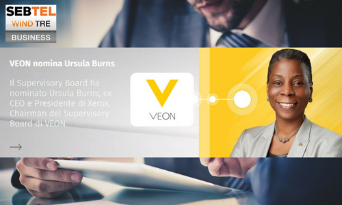 VEON nomina Ursula Burns Chairman Supervisory Board