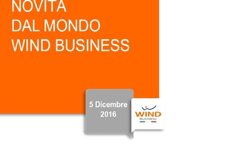 Canvass Business 5 dicembre 2016